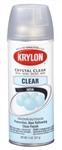 Spray Paint, Krylon Crystal Clear Protective Non-Yellowing Top Coat, Satin, Each