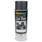 Spray Paint, Cast Blast High Temperature 1200, Iron Gray, Each