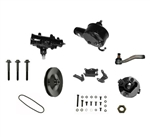 1969 - 1972 Nova Power Steering Conversion Kit, Big Block Low Horse