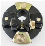 "1966 - 1972 Chevelle / Nova Manual Steering Rag Joint Coupler, 3-1/4"" OD, For 3/4"" 36 Full Spline Round Input Shafts"