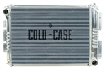1968 - 1971 Chevy II Nova Big Block COLD-CASE Aluminum Radiator for Manual Trans