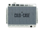 1966 - 1967 Chevelle COLD-CASE Aluminum Radiator for Manual Trans