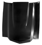 1970 - 1972 Chevelle Cowl Induction Hood, Steel Non-Functional OE Style