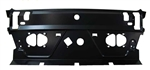 1968 - 1972 Nova Rear Window Package Tray Metal Panel
