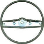1969 - 1970 Nova Steering Wheel, Standard, Dark Green, 3939735