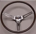 1967 - 1968 Steering Wheel Kit, Walnut Woodgrain