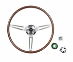 1969 Chevelle / Nova Steering Wheel Kit, Rosewood, Tilt