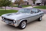 1969 Nova Yenko Decal Stripe Set, Black