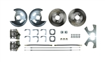 1964 - 1977 Chevelle Rear Disc Brake Conversion Kit