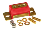 1968 - 1972 Nova Polyurethane Transmission Mount, RED