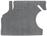 1968 - 1969 Chevelle Trunk Mat, Original Style Vinyl / Rubber with Gray Herringbone Pattern