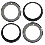 14 X 7 Wheel Trim Rings Set, Rally Wheel Style