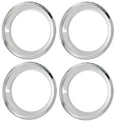 14 x 7 Wheel Trim Rings, Super Sport Deep Dish SS Style, Set of 4
