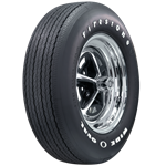 Firestone Wide Oval RADIAL with Raise White Letters, GR70-14