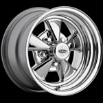 Classic Cragar S/S Chrome Plated Wheel 15 x 8 Uni-Lug