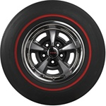 F70-14 Firestone Wide Oval Redline Tire