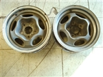 Spyder Motor Wheels, Original Used Pair