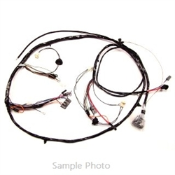 1970 Chevelle Front Light Harness, V8, With Warning Lights, Without Ac, Without 396-454 C.I. - Altpi
