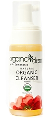 Organoderm Fresh Foaming Organic 95%+ certified Ingredients Cleanser-4oz.