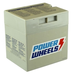 Power Wheels 12V Gray Battery