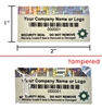 High Security Hologram Label, High Security Hologram Sticker, High Security Hologram Seal,