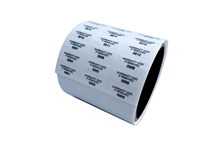 "500 White  TamperVoidPro Tamper Evident Security Labels Seal Sticker,  Rectangle 0.75"" x 0.25"" (19mm x 6mm). Printed: Warranty Void if Label Removed."