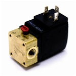 Solenoid 12V with manual override