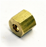 Nut Compression 5mm X M10 X 1- Brass - pack of 10