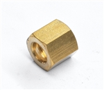 Nut Compression 8mm X M12 X 1  - Brass - pack of 12
