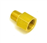 Adapter 1/4 (F) NPT X 1/8 (M) NPT - Brass