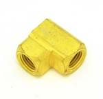 "Elbow 1/4"" NPT (F) x 1/4"" NPT (F) Brass"