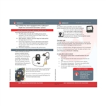 Driver instruction card electric gear pump EP0