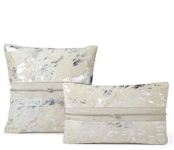 Modern Diva Square Cowhide Pillow
