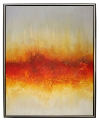 Jupiter  Modern Art  with Silver Floating Frame available at Modern Home 2 Go