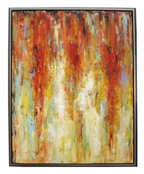Prometheus  Modern Art  with Silver Floating Frame available at Modern Home 2 Go