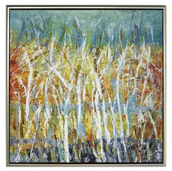 Everglade ll  Modern Art  with Silver Floating Frame available at Modern Home 2 Go