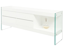 Lucca Modern Buffet in White