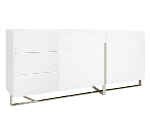 Lugo Modern Buffet in White