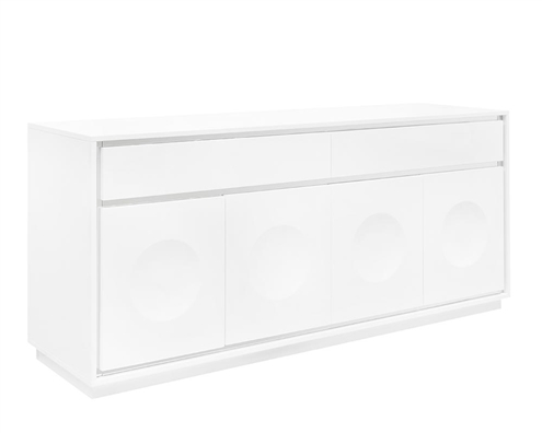 Toscana Modern Buffet in White