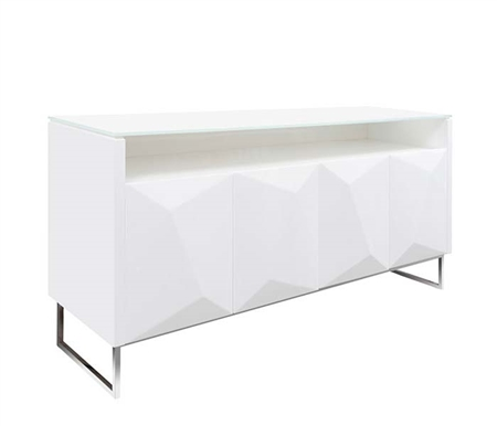 Chiesa Modern Buffet in White