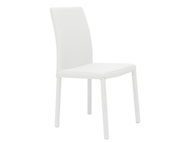Messe Modern Dining Chair in White