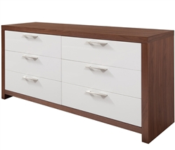 Vercelli Modern Cabinet in Walnut
