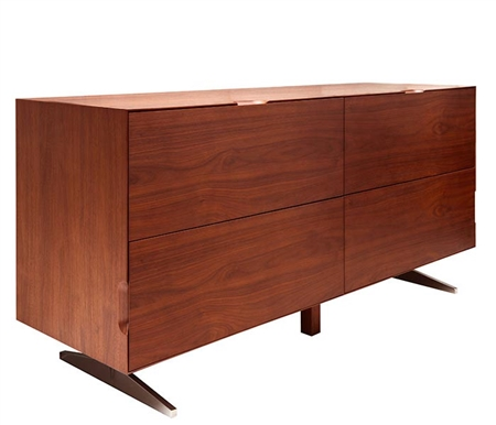 Avola Modern Cabinet in Walnut