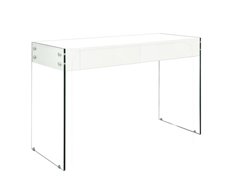 Lucca Modern Console Table in White