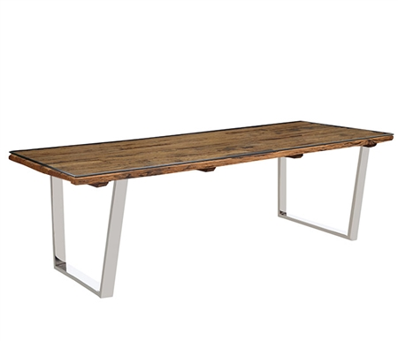 Amalfi Modern Rectangular Dining Table