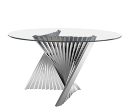 Positano Modern Round Dining Table