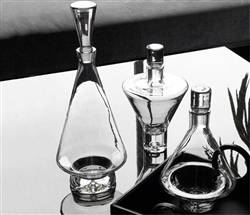 Modern Clear Decanters Tall Fat Bottom