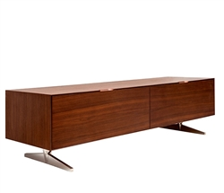 Avola Modern TV Unit in Walnut