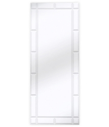 Silhouette Beveled Mirror Panel available at mh2g