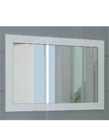 A contemporary beautiful large mirror